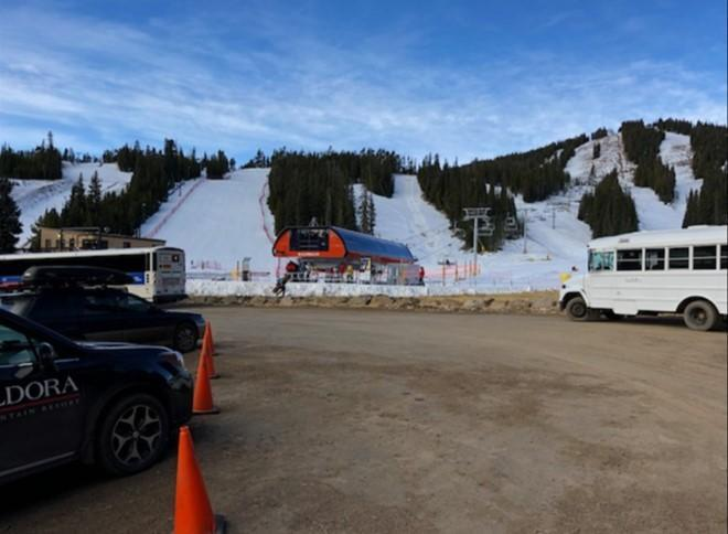 Eldora ski Nov 17 base new