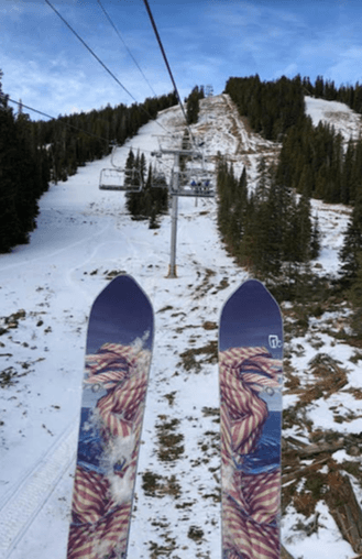 Eldora Ski Resort opens with New Lift! Alpenglow High Speed 6-Pack